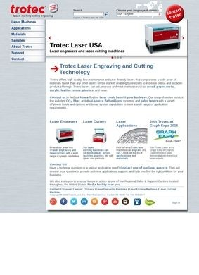Trotec USA: Laser Systems