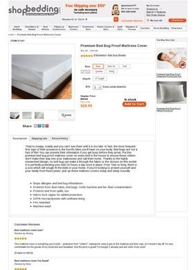 Shop Bedding Mattress Covers