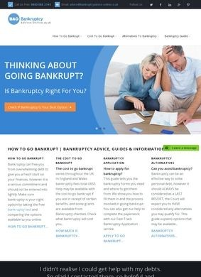 Bankruptcy Advice Online