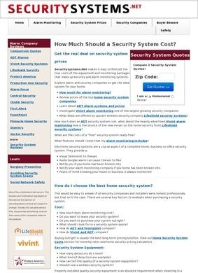 Security Systems.net
