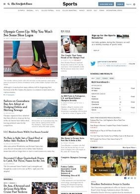 The New York Times Sports