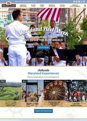 The Official Travel and Tourism site for Maryland