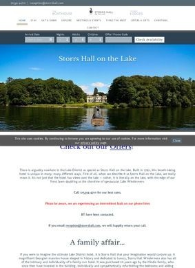 Storrs Hall: Luxury Hotel and Lodges in Windermere