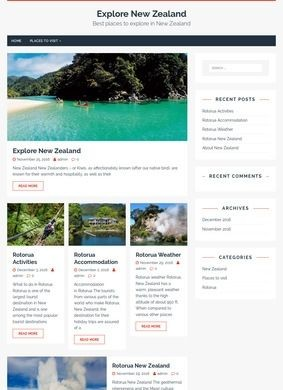 Explore New Zealand Holiday