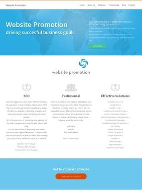 Web Promotion Specialist