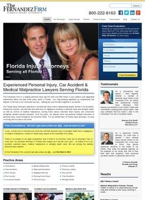Fernandez Firm: Tampa Nursing Home Abuse Attorneys