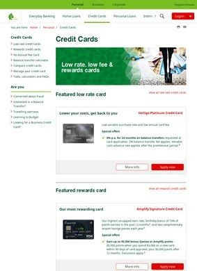 St.George Credit Cards
