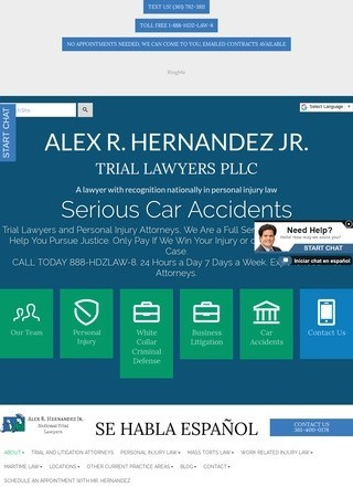 Alex R Hernandez Jr Personal Injury Lawyer