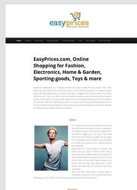 EasyPrices.com Online Marketplace
