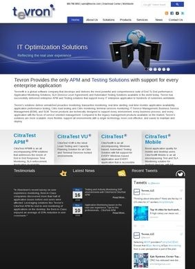 Tevron: APM and Testing solutions for All Enterprise Applications