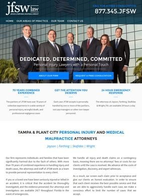 JFSW Law: Tampa Medical Malpractice Lawyers