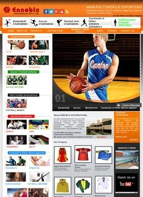 Basketball Uniforms-Sportswear Clothing by Ennoble