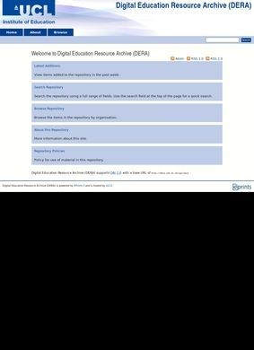 Digital Education Resource Archive (DERA)