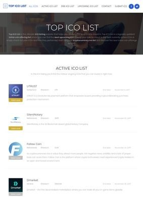 Top ICO List