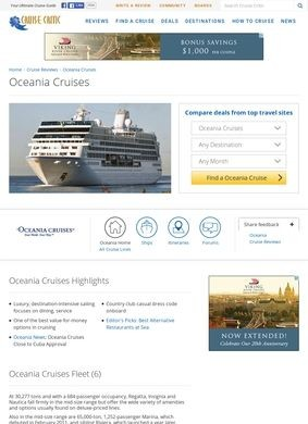 Oceania Cruise Reviews - Cruise Critic