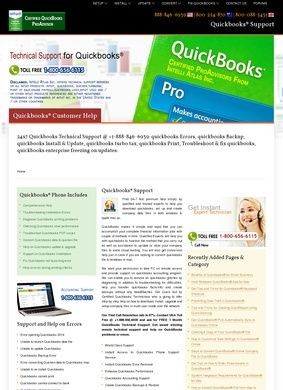 Quickbooks® Tech Support