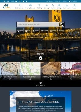 California Official Home Page