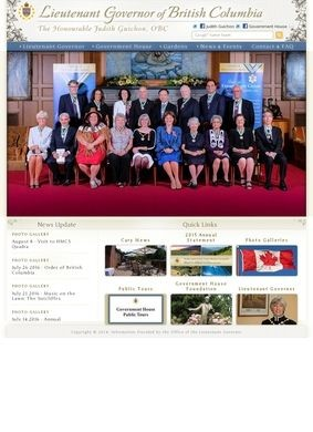 The Office of the Lieutenant Governor