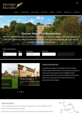 Exclusively Warwickshire Holiday Cottages