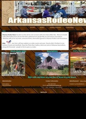 Arkansas Rodeo News