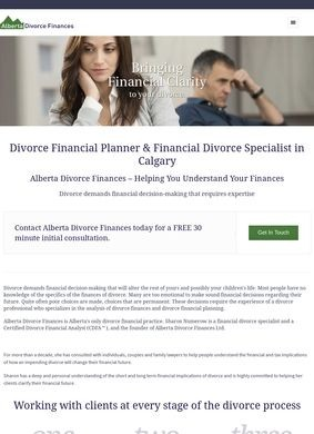 Alberta Divorce Finances