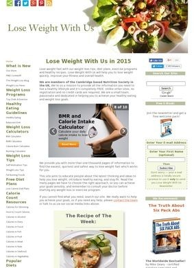 Lose Weight With Us