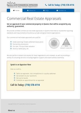 Commercial Real Estate Appraisers in Queens NY