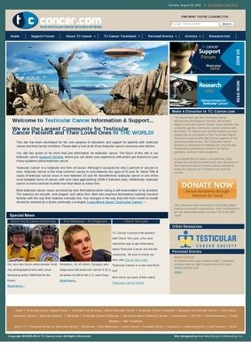 Testicular Cancer Information and Support View
