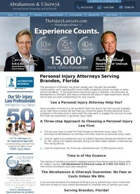 Brandon Injury Attorney