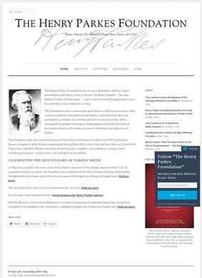 The Henry Parkes Foundation