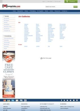 Monoprints.com: Art Galleries in the USA