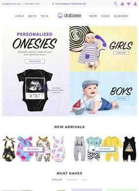 Dabzee: Baby Clothes & Goods