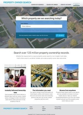 Property Owner Search