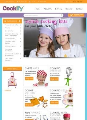 Cookify: Aprons, kids baking sets & cooking utensils for chefs of all ages