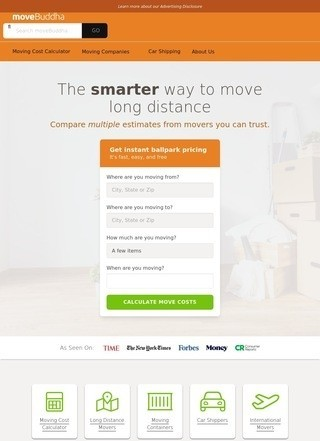 moveBuddha: Compare Moving Quotes & Moving Companies