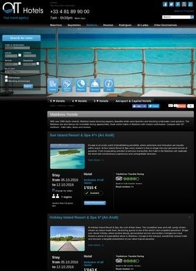 Maldives Hotels: OIT Hotels Ltd.