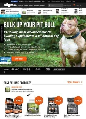 Bully Max Dog Supplements: The Official Website
