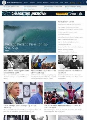 ASP Association of Surfing Professionals