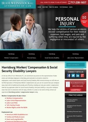 Harrisburg Workers' Compensation Attorneys