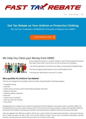 Claim Uniform Tax Rebate from HMRC