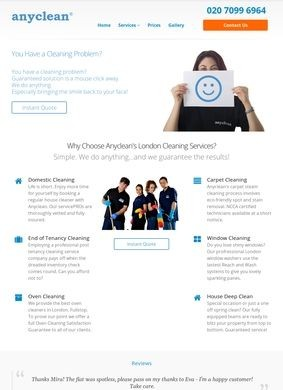 Anyclean: London Cleaning Services