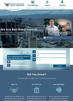 Brooks Brothers Bail Bonds