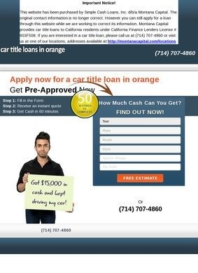 Flash Car Title Loans