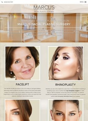 Facial Plastic Surgeon Dr. Marcus