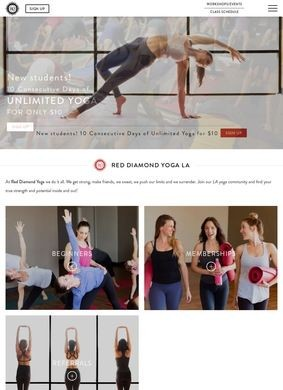 Red Diamond Yoga: Los Angeles Yoga Studio