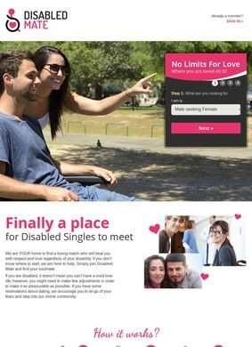Dating for disabled
