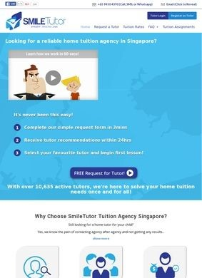 SmileTutor Home Tutor Singapore