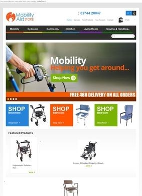 Mobility Aid Store