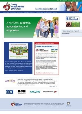 New York State Association of County Health Officials (NYSACHO)