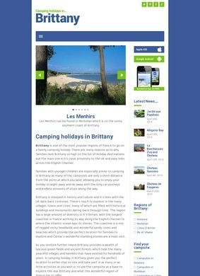 Camping Holidays in Brittany
